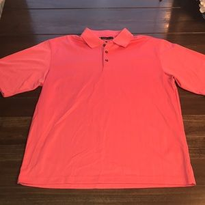 Men's Pebble Beach Coral/Pink Polo